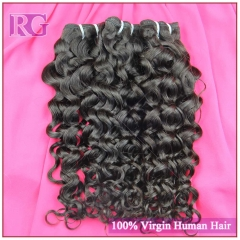 3 Bundles/Pack Italian Curl Virgin Brazilian Hair Weaves 100% Human Hair