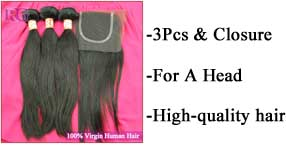 Bundles With Closure Deal,Free Shipping