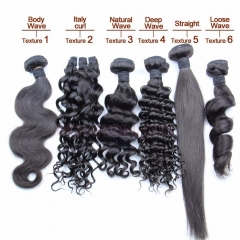 Wholesale Hair Grade 9A++ Virgin Human Hair Bundle 1 Bundle Natural Color Best Deal