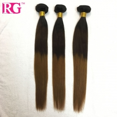 Ombre Hair Color 1b/4/30 Brazilian Straight Hair 3 Bundles/Pack Free Shipping