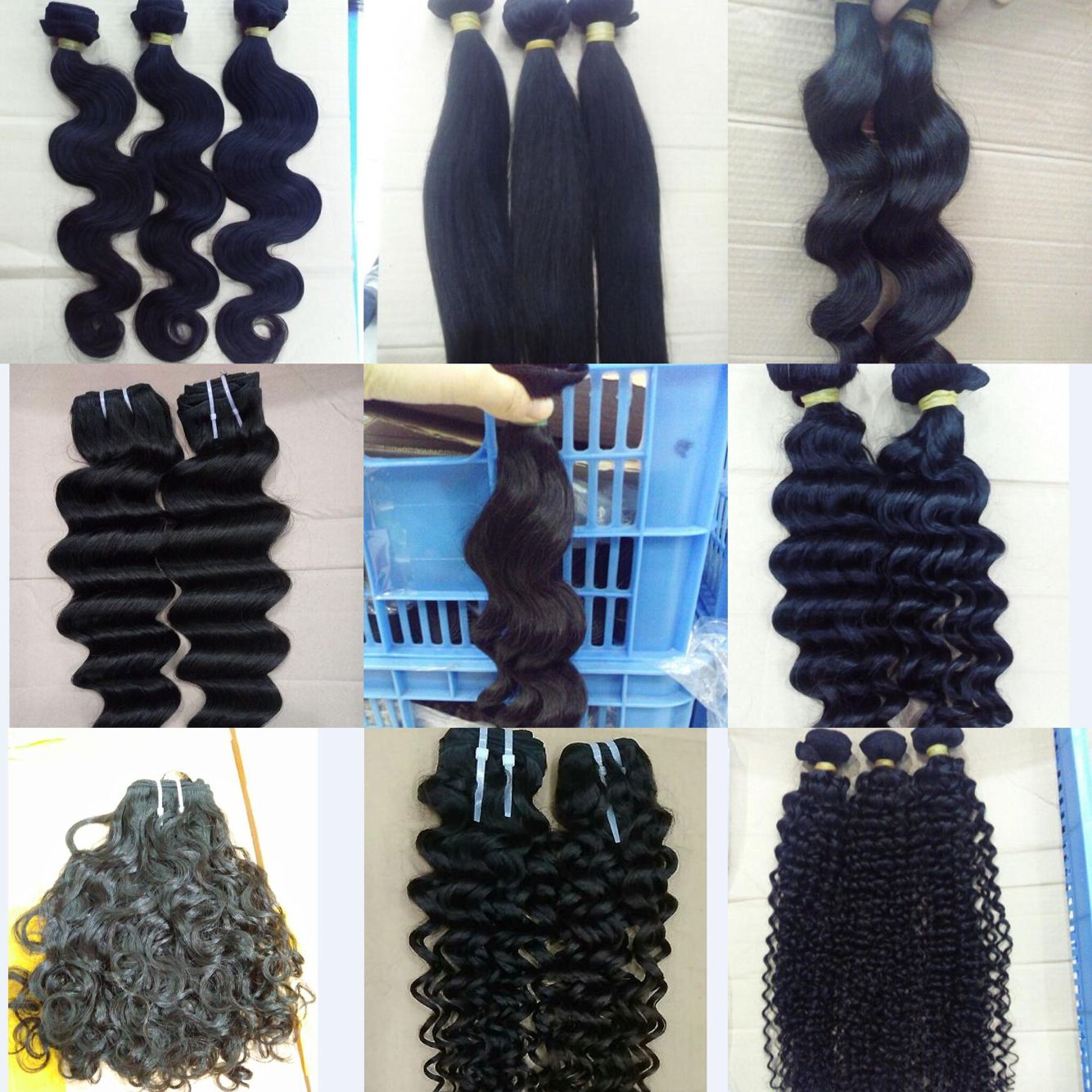 10A Single Bundle Collection Raw Hair Unprocessed Hair Virgin Hair 1 Bundle in Wholesale Price