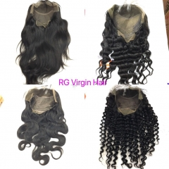 Brazilian Lace Front Wig 100% Virgin Human Hair Lace Wig 8-24inch