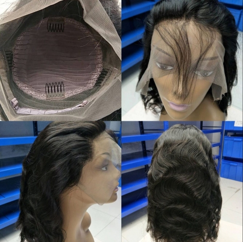 360 Wig Body Wave Virgin Human Hair Lace Wig 10-22inch