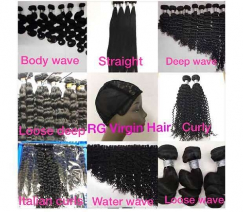Grade 8A Human Hair Bundle Hair Weave 1 Bundle in Wholesale hair