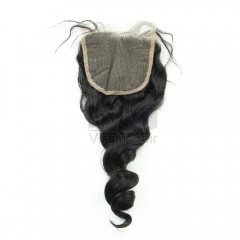 Loose Wave Lace Closure Virgin Hair Top Closure