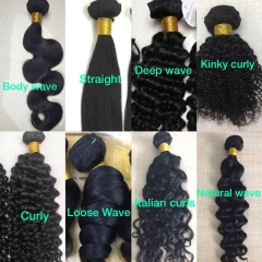 Grade 9A Brazilian Virgin Hair Bundle Single Bundle Wholesale Price