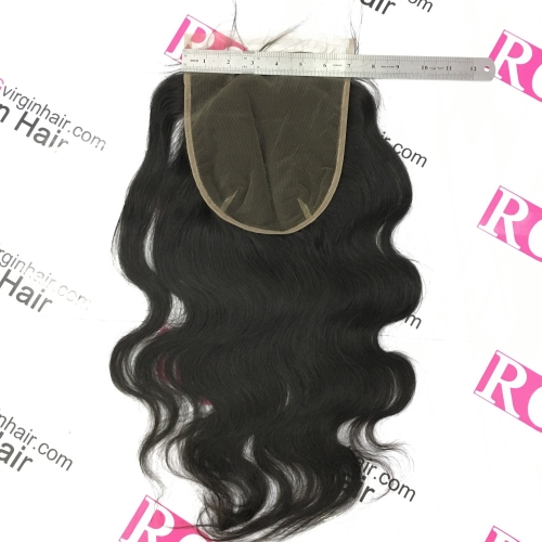 7*7 Lace Closure Body wave Virgin Hair Closure in Wholesale price