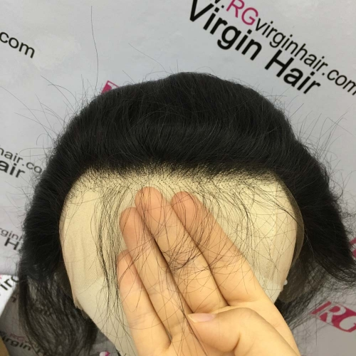 Straight HD Lace Frontal  Ear to ear Swiss Lace Virgin Hair Frontal