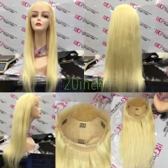 613 Blonde Lace Frontal Wig Long Straight Human Hair Lace Wig by RG Virgin Hair