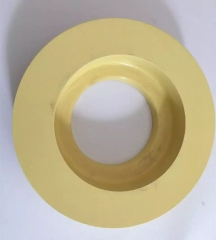 Yellow color cerium polishing wheel