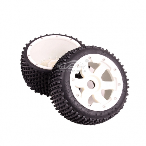 Rear off-road wheel set Fit 1/5 HPI Baja 5B