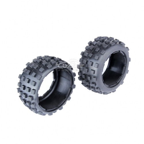 Rear 5B knobby tire fit 1/5 RC HPI baja 5B