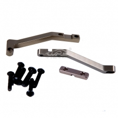 Alloy CNC support brace of servo Titanium for Losi 5ive T