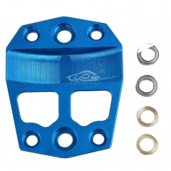 Metal center differential gear cover blue for Losi 5ive T