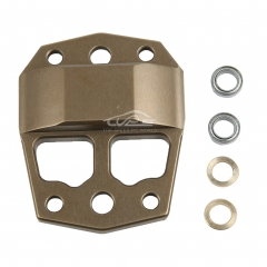 Metal center differential gear cover  for Losi 5ive T
