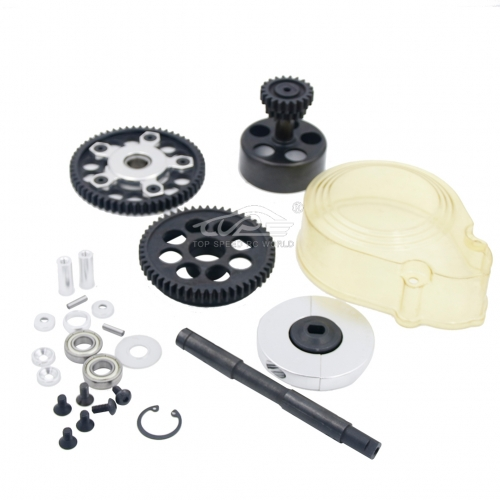 2 speed system with plastic gear cover Set for Hpi Baja 5B/5T/5SC