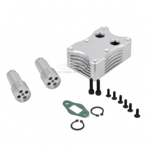 GR exhaust box For 1/5 HPI Baja 5B 5T 5SC
