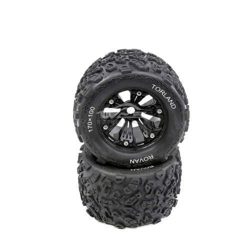 Knobby tyres for 1/8 rovan TORLAND rc car parts