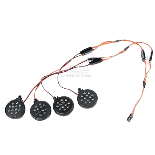 Led lighting,direct insertion receiver (white light) for 1/5 hpi baja 5T