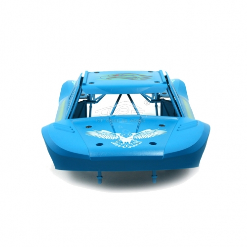 Body Completely set Include rollcage and bodyshell Blue for Losi 5ive T