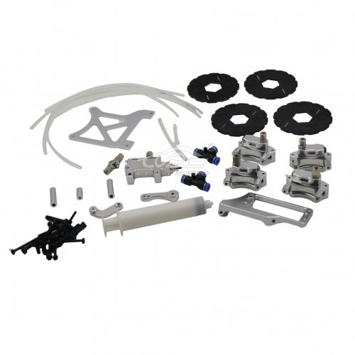 Baja 4 Wheel hydraulic brake kit for 1/5 HPI baja 5B rc car toy parts