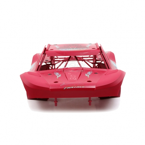 Body Completely set Include rollcage and bodyshell Pink for Losi 5ive T