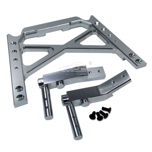 TOP SPEED RC WORLD Alloy Center Roll Bar Brace Silver fit 1/5 baja 5B 5T 5SC