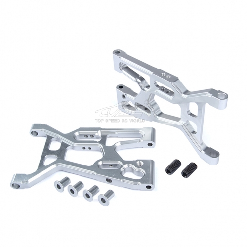 Alloy Front Suspension Kit Silver fit Losi 5ive T