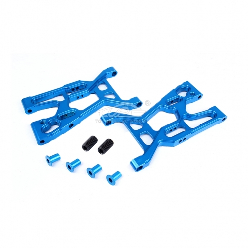 Alloy Front Suspension Kit Blue fit Losi 5ive T