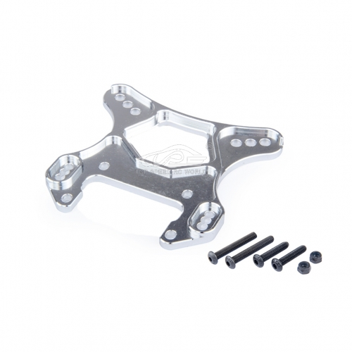 Alloy 8MM front shock absorber bracket Silver fit Losi 5ive T