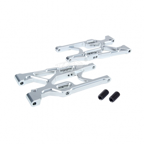 Alloy Rear Suspension Kit Silver fit Losi 5ive T