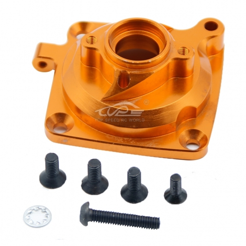 Alloy clutch housing kit Orange color fit HPI BAJA Rovan King Motor 5B 5T 5SC