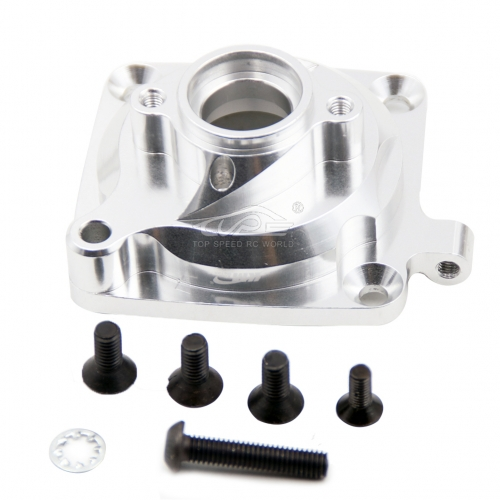 Alloy clutch housing kit Silver color fit HPI BAJA Rovan King Motor 5B 5T 5SC