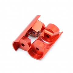 TOP SPEED RC WORLD Alloy Shock Under Mounting Bush Orange Red fit 1/5 RC HPI BAJA RV KM 5B 5T 5SC
