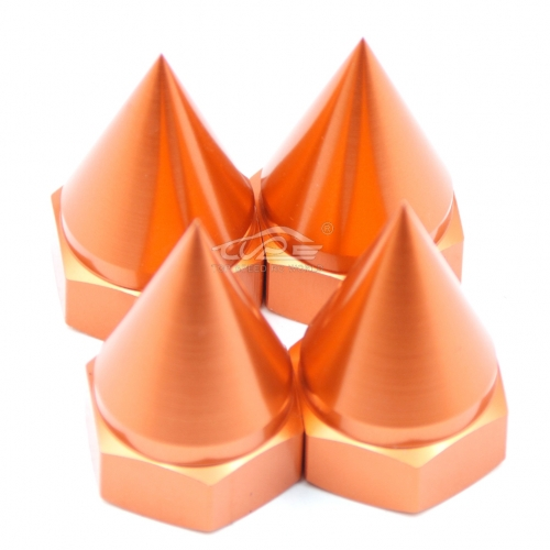 TOP SPEED RC WORLD 5B Alloy Wheel Nut Cone-Shape for Hpi Rovan Km Baja 5B