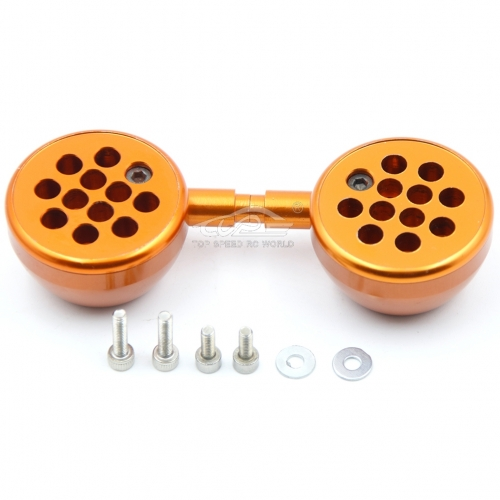 Alloy light bucket set Orange Fit 1/5 HPI Baja 5B 5T 5SC