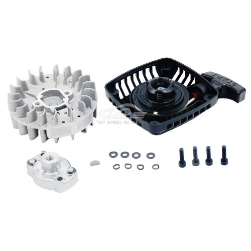 TSRC Pull Starter with flywheel Upgrade Fit 1/5 HPI Baja 5B 5T 5SC