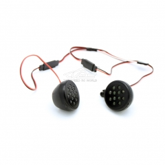 LED lights Receiver kit for 1/5 RC HPI BAJA Rovan King Motor 5B