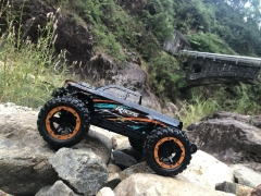 1/16 Scale 2.4GHz High Speed Big Foot Brushless Motor Off-Road Racing Truck Big Wheels RC Cars Remote Control RC Car Toys