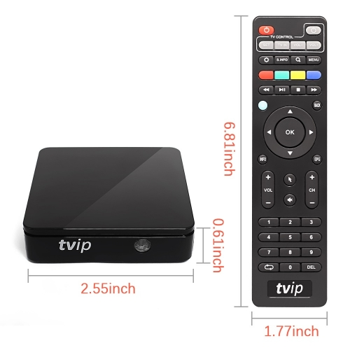 TVIP415 2.4G5G Box with Dual frequency wifi Amlogic Quad Core 4GB Linux Android 4.4 Dual OS Smart TV Box