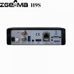 Zgemma H9s 4K UHD TV Box Linux OS E2 DVB-S2X Satellite Tuner Support Qt Stalker IPTV Play