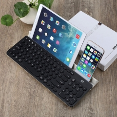 mini Keyboard Wireless Bluetooth gaming Keyboard Engineering Tablet Stand for Smart Phone/PC/Tablet