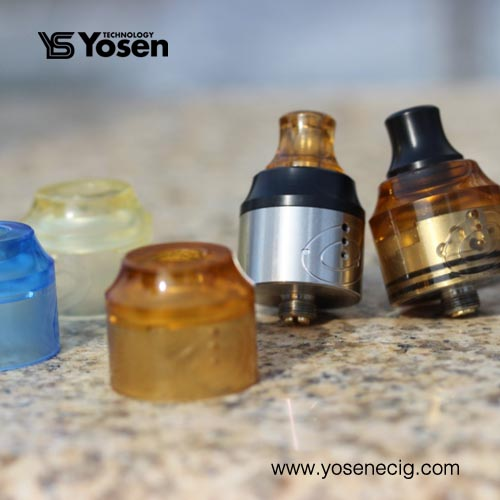 24MM PMMA Replacement Top Cap for Vapefly Galaxies MTL RDA