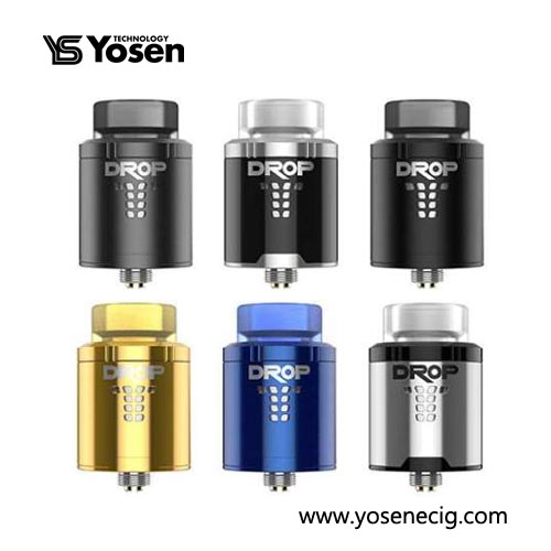 Authentic Digiflavor Drop RDA 24mm Styled Rebuildable 4 Post Atomizer Tank