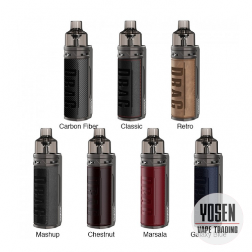 Voopoo Drag S 60W VW Pod Mod Kit With 2500mAh Battery