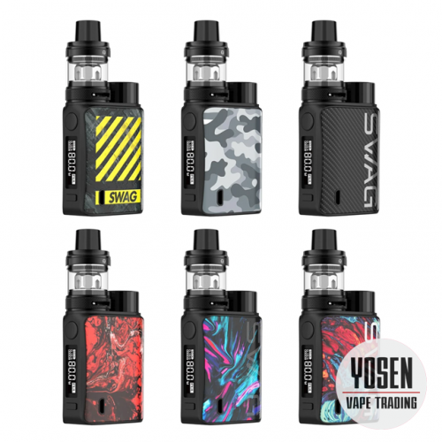 Vaporesso Swag II 2 New Color 80W 18650 TC Vape Box Mod Starter Kit