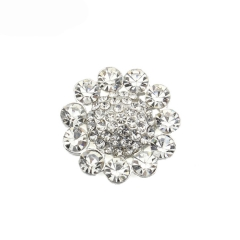 high quality crystal rhinestone lady's buttons