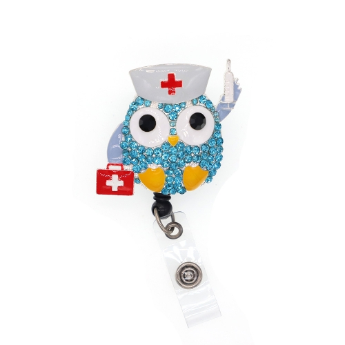 Classic Owl Doctor ID Badge Reel