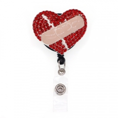Love Band-Aid ID Badge Reel