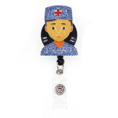 Professional Doctor ID Badge Reel
